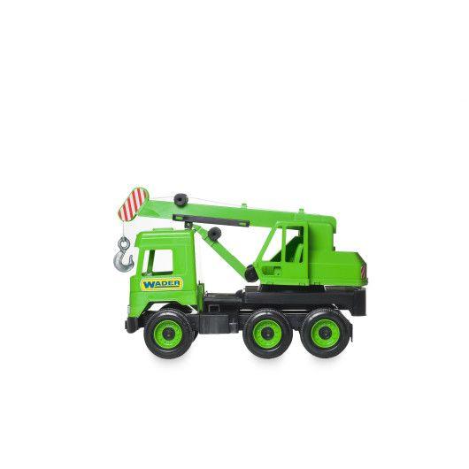 """Авто """"Middle truck"""" кран (зелений) в коробці - 3"""