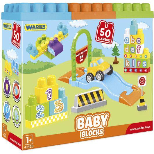 """41450 """"Baby Blocks"""" Мої перші кубики - 50 шт (в коробці)"""