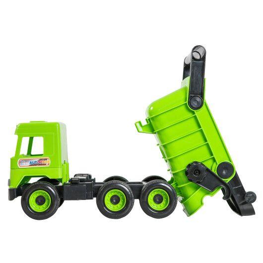 """Авто """"Middle truck"""" самоскид (зелений) в коробці - 4"""