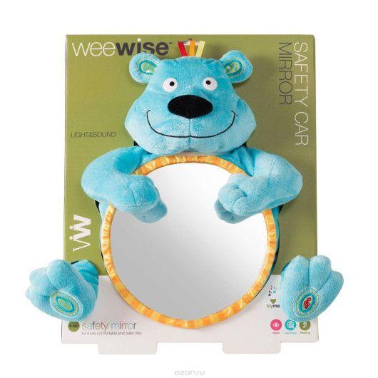 Іграшка дитяче дзеркальце в автомобіль  Ведмедик