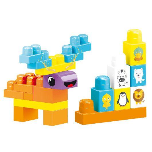 """""""Baby Blocks"""" Мої перші кубики - 100 шт (в сумці) - 2"""