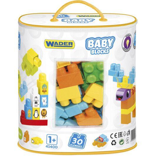 """""""Baby Blocks"""" Мої перші кубики - 30 шт (в сумці)"""