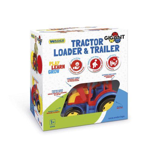 """Трактор """"Гігант"""" з причіпом та ковшем - 4"""