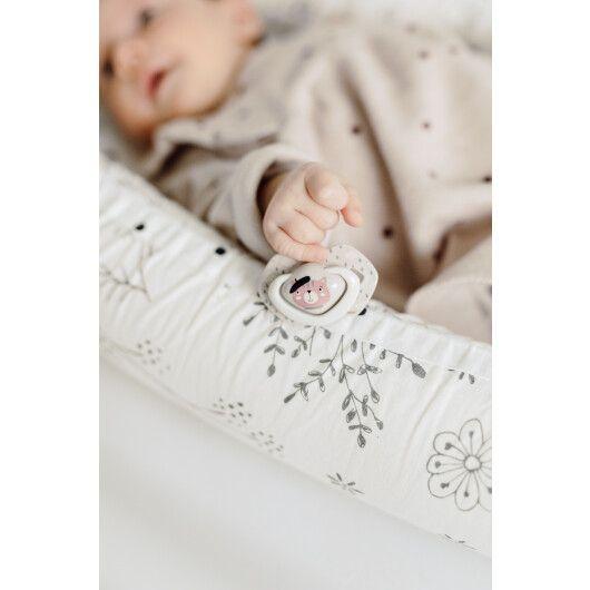 Canpol babies Пустушка силіконова симетрична 6-18 міс BONJOUR PARIS 2 шт. - рожева - 9