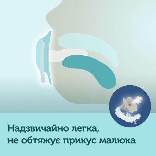 Canpol babies Пустушка силіконова симетрична 6-18 міс BONJOUR PARIS 2 шт. - рожева - 11