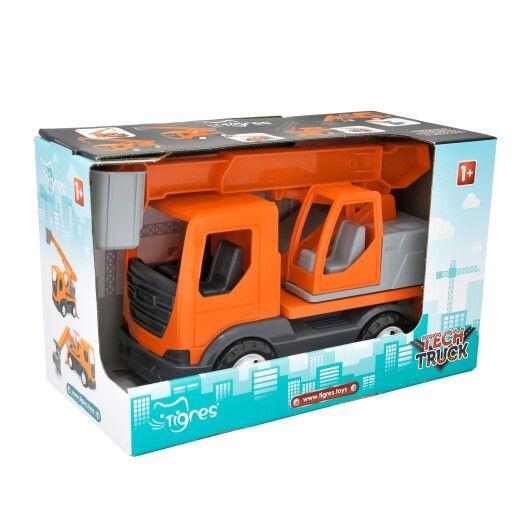 """Авто """"TechTruck"""" підйомник в коробці"""