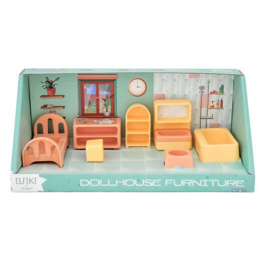 Набір меблів для ляльок (спальня) 7 ел., ELFIKI - 2