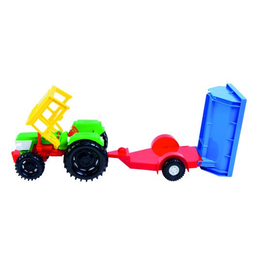 Трактор з причепом в коробці - 4