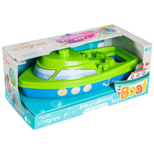 """Розвиваюча іграшка """"Кораблик"""" в коробці"""