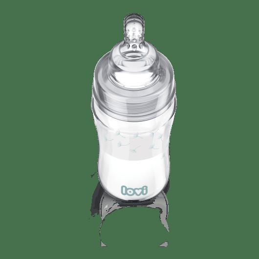 LOVI Пляшечка скляна Diamond Glass 250 мл Botanic - 3