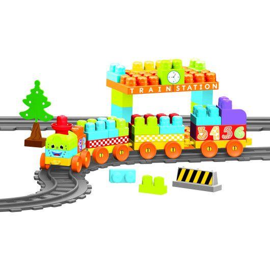 """""""Baby Blocks"""" Мої перші кубики - залізниця 3,35м - 89ел. - 2"""