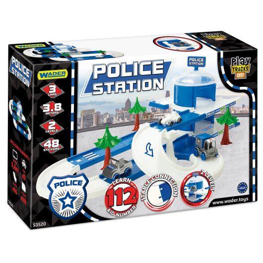 Play Tracks City - набір поліція