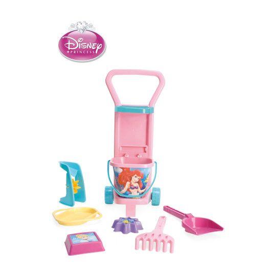 Візок з набором для піску - Принцеси Disney