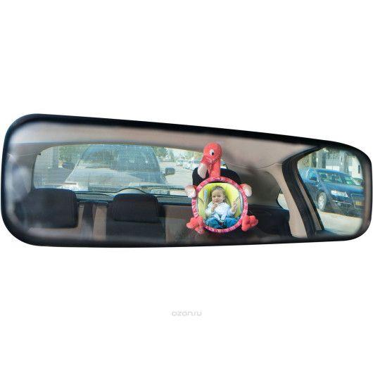 Іграшка дитяче дзеркальце в автомобіль  Фламінго - 3