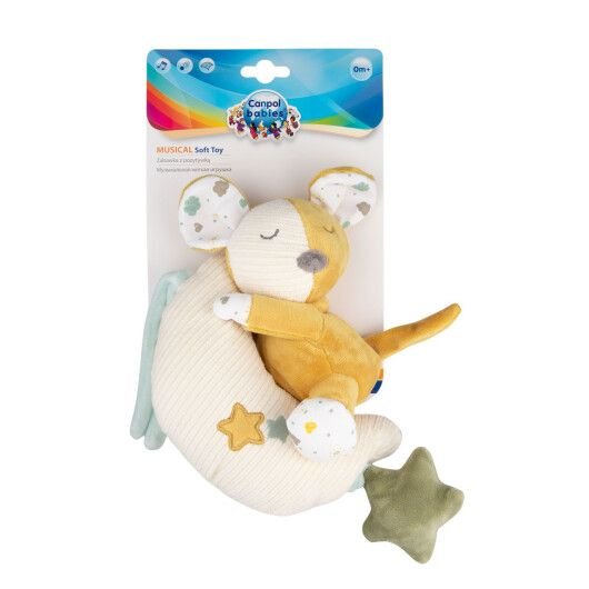 Canpol babies Іграшка плюшева музична Mouse - 7