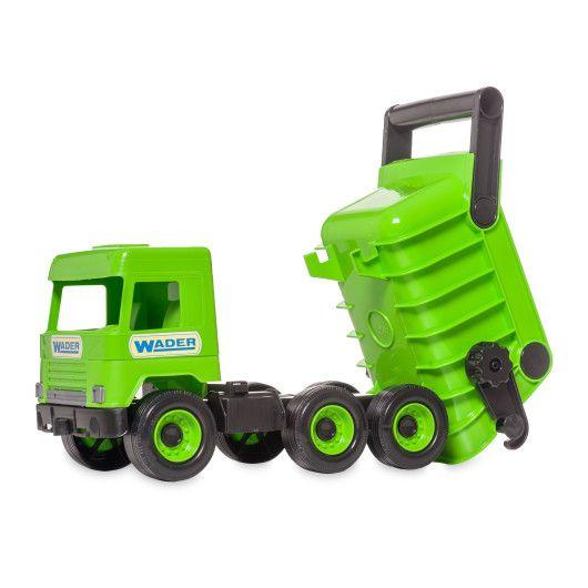 """Авто """"Middle truck"""" самосвал (зеленый) в коробке - 2"""