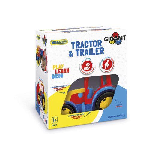"""Трактор """"Гігант"""" з причіпом - 4"""