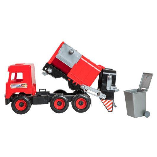 """Авто """"Middle truck"""" сміттєвоз (червоний) в коробці - 2"""