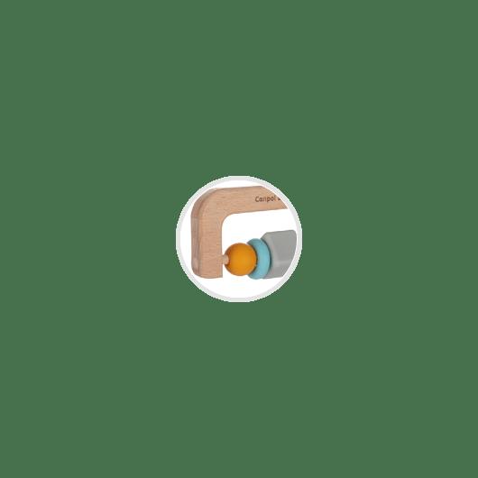 Canpol babies Игрушка-прорезыватель (деревяно-силиконовая) - 6