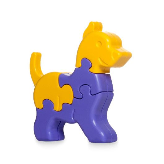 Іграшка розвиваюча: 3D пазли-Тваринки (1шт.) - 8 ел.