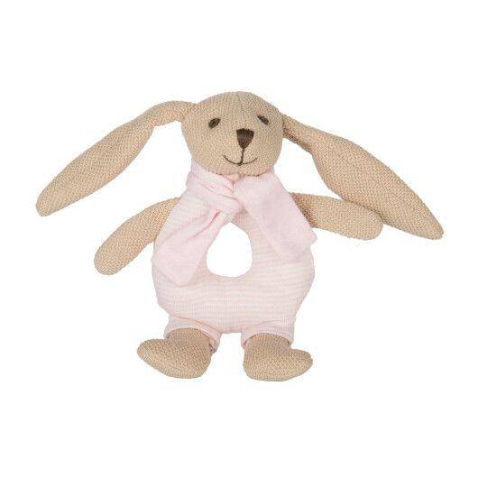 Canpol babies Іграшка-брязкальце м'яка Кролик - рожева - 3
