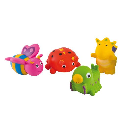 Іграшка для купання Сад 4 шт.