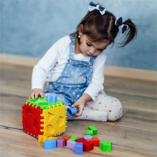 "Іграшка-сортер ""Educational cube"" 24 ел., Tigres - 4"
