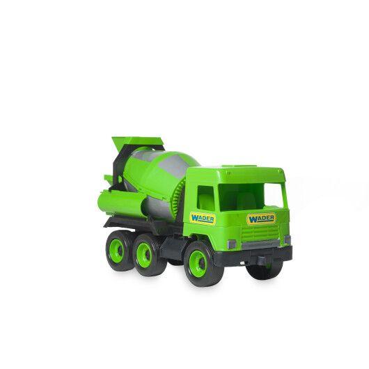 """Авто """"Middle truck"""" бетонозмішувач (зелений) в коробці - 2"""