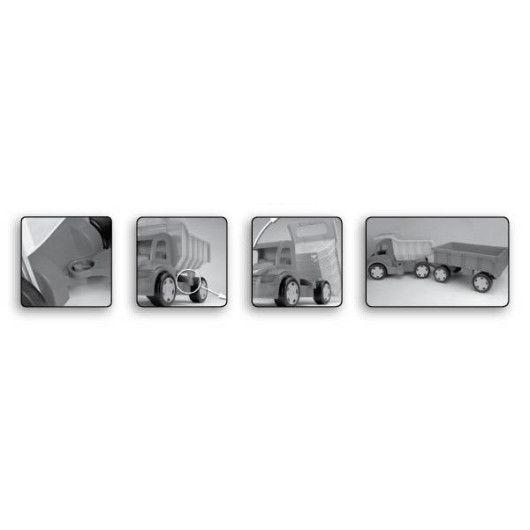 """Вантажівка """"Гігант"""" для дівчат (без картону) - 2"""
