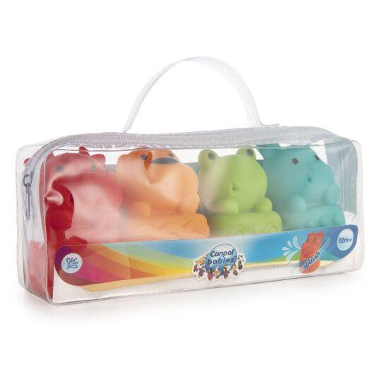 Canpol babies Іграшка для купання Звірята 4 шт. - 9