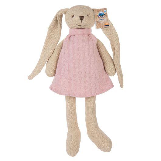 Canpol babies Іграшка м'яка Кролик - рожева - 8