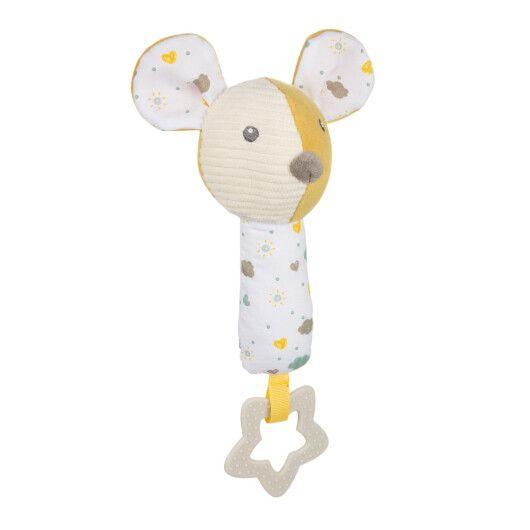 Canpol babies Іграшка плюшева з пищалкою та прорізувачем Mouse - 2