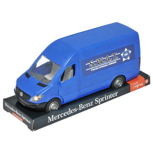 """Автомобіль """"Mercedes-Benz Sprinter"""" вантажний (синій) на планшетці, Tigres"""