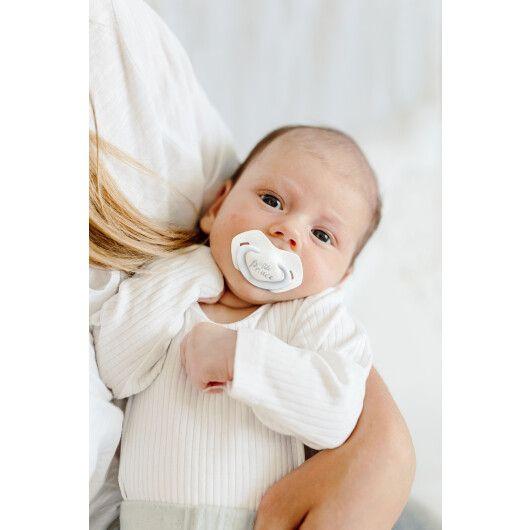 Canpol babies Пустушка силіконова симетрична 6-18 міс ROYAL BABY 2 шт. - блакитна - 9