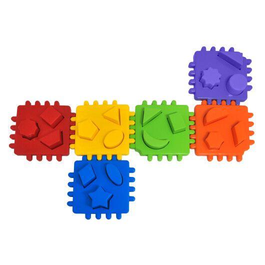 """Іграшка-сортер """"Smart cube"""" 24 ел. в коробці, Tigres - 2"""