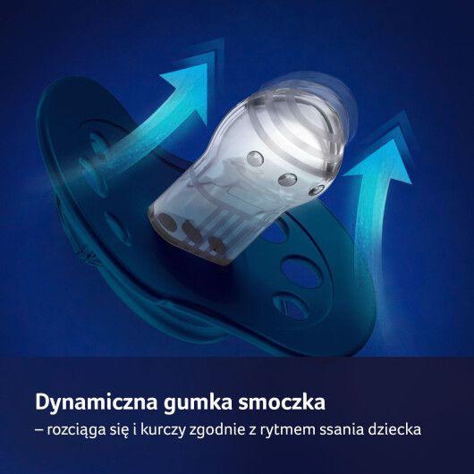 LOVI Пустушка силіконова динамічна 3-6 м-ців 2 шт. Stardust - фіолетова - 8