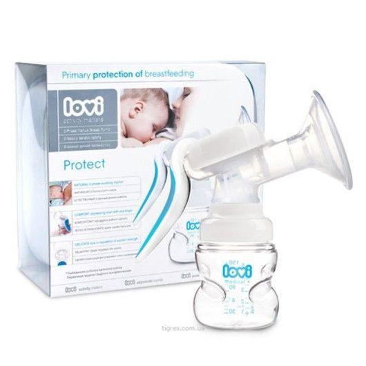 Молоковідсмоктувач двофазний ручний Protect LOVI - 2