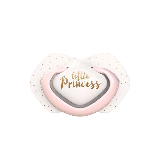 Canpol babies Пустушка силіконова симетрична 6-18 міс ROYAL BABY 2 шт. - рожева - 4
