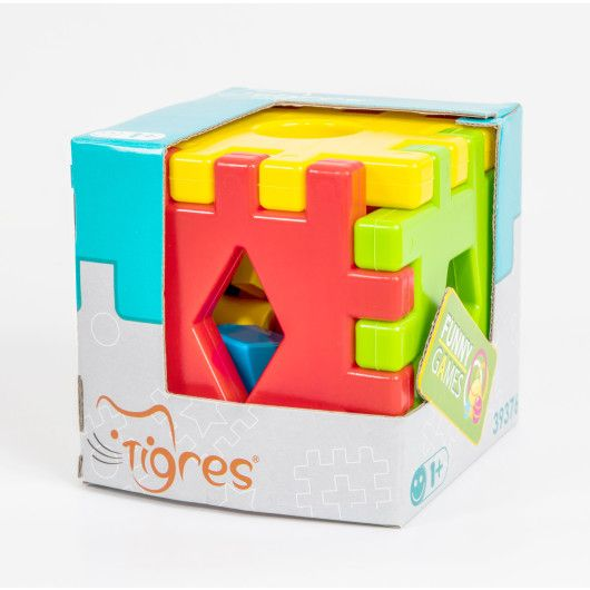 """Развивающая игрушка """"Волшебный куб"""" 12 элементов в коробке - 3"""