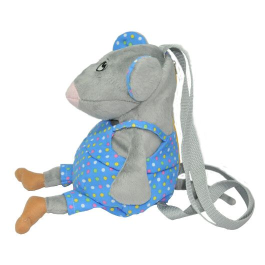 "Игрушка - рюкзак ""Мышка - мальчик"", Tigres - 3"