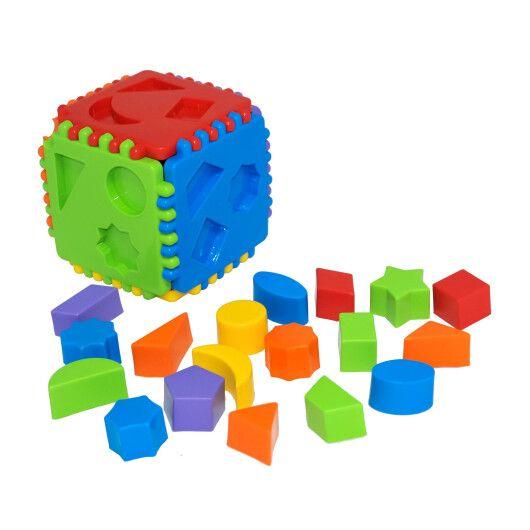 "Іграшка-сортер ""Educational cube"" 24 ел., Tigres - 2"