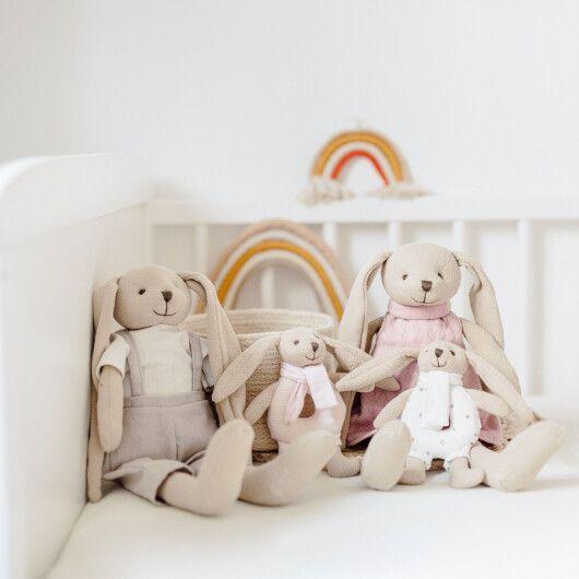 Canpol babies Іграшка-брязкальце м'яка Кролик - рожева - 11