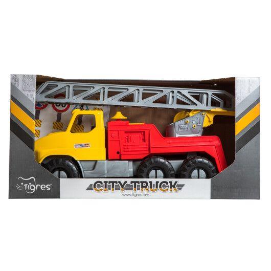 "Авто ""City Truck"" пожежна в коробці - 3"