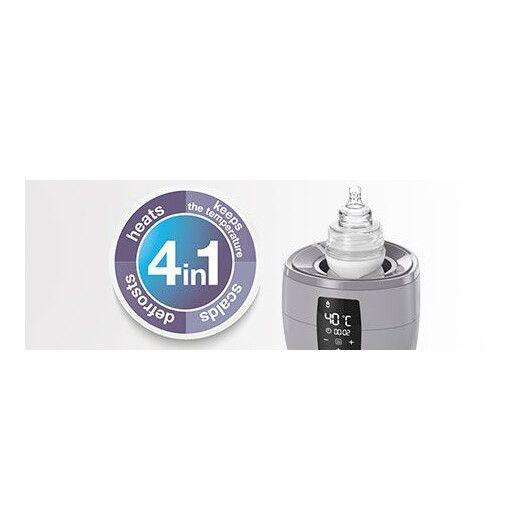 LOVI Підігрівач електричний для пляшечок - білий - 6