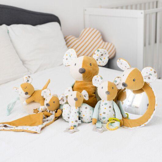 Canpol babies Іграшка плюшева з брязкальцем Mouse - 5