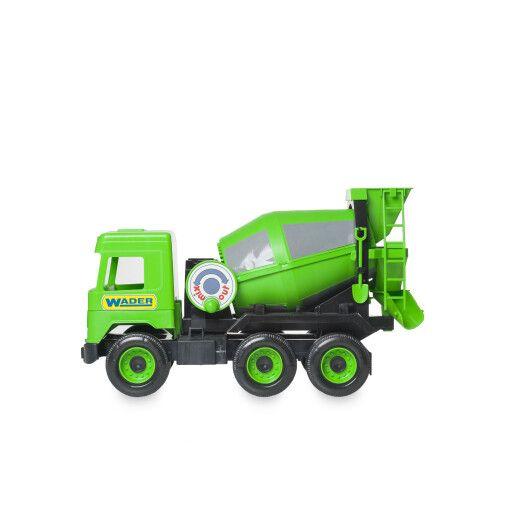 """Авто """"Middle truck"""" бетонозмішувач (зелений) в коробці - 3"""