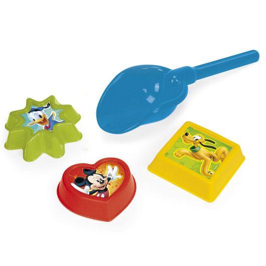 Лопатка + 3 формочки мікс -  Disney - 5