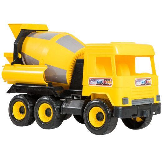 """Авто """"Middle truck"""" бетонозмішувач (жовтий) в коробці - 2"""