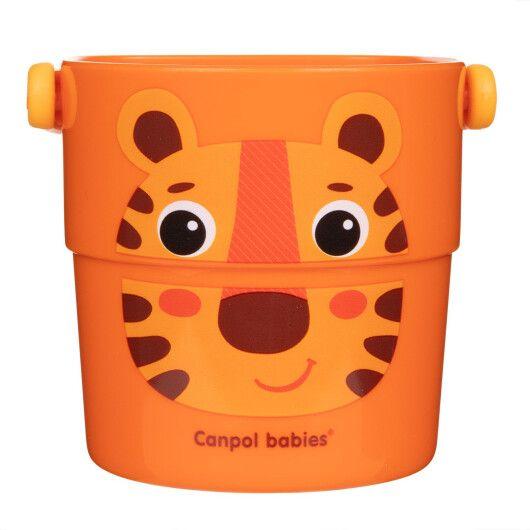 Canpol babies Іграшка-кружечки для купання HELLO LITTLE 3 шт. - 8