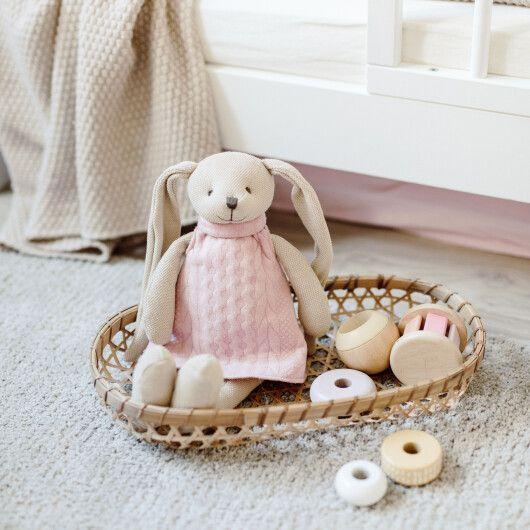 Canpol babies Іграшка м'яка Кролик - рожева - 10